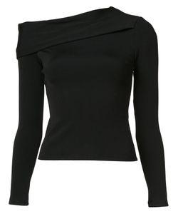 Rag & Bone | Asymmetric Shoulder Knit Blouse Xxs