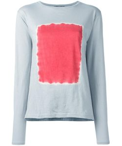 SUZUSAN | Square Print Jumper Medium Cotton/Cashmere