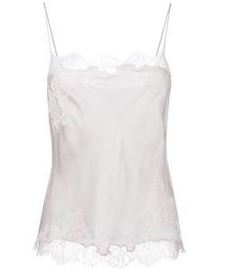 Carine Gilson | Lace Insert Camisole Small Silk
