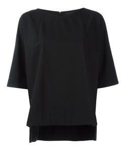 DEMOO PARKCHOONMOO | Boat Neck Top 38 Polyester/Wool/Rayon/Polyurethane