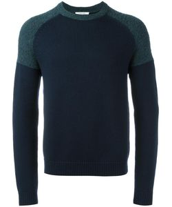 Carven | Colour Block Jumper Large Wool/Alpaca/Polyamide