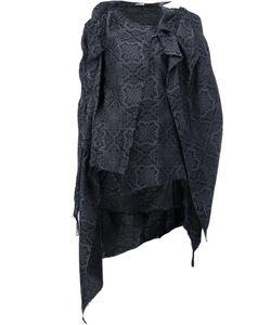 AGANOVICH | Fleur Tunic 38 Silk/Cotton