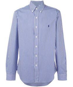 Polo Ralph Lauren   Striped Shirt Medium Cotton