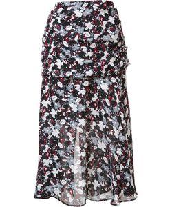 Veronica Beard | Print A-Line Skirt 2 Silk