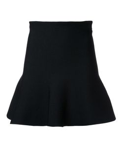 SCANLAN THEODORE | Crepe Knit Ruffle Skirt Small Viscose