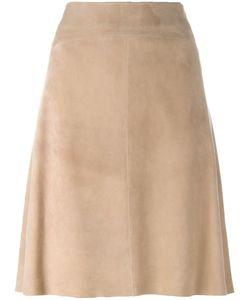 Arma | Piana Skirt 38 Polyester/Goat Skin