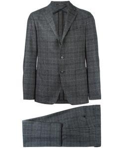 Tagliatore | Plaid Formal Suit 50 Virgin Wool/Cupro