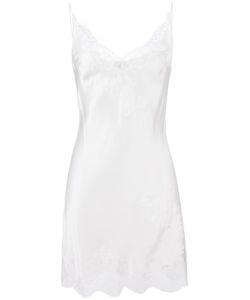 Carine Gilson | Lace V-Neck Slip Small Silk