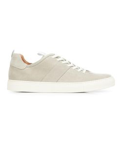 Daniel Patrick | Lace-Up Low Top Sneakers 44 Suede/Leather/Rubber