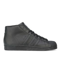 Adidas | Pro Model Hi-Top Sneakers 42.5 Rubber/Nylon/Leather