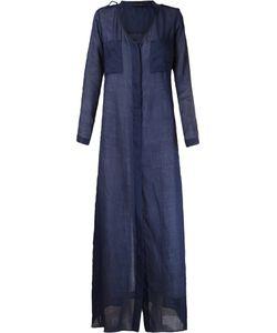 GIULIANA ROMANNO | Long Shirt Dress 38 Linen/Flax