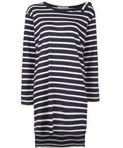 Faith Connexion | Striped Sailor Dress Medium Cotton