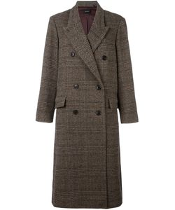 Isabel Marant | Flint Checked Overcoat 36 Virgin Wool/Acetate/Viscose/Viscose