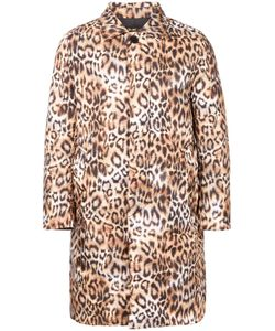 DRESS CAMP | Dresscamp Animal Print Padded Coat Adult Unisex Small Polyester