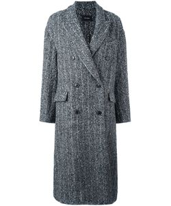 Isabel Marant | Oversize Button-Up Coat 40 Cotton/Alpaca