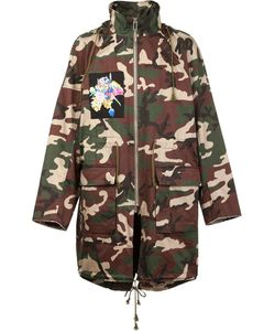 CHRISTIAN DADA | X Nobuyoshi Araki Patch Camo Coat