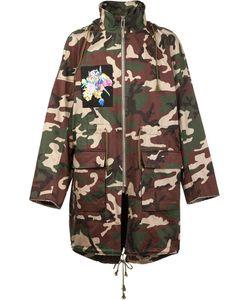 CHRISTIAN DADA | X Nobuyoshi Araki Patch Camo Coat