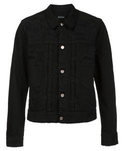 CHRISTIAN DADA | Distressed Denim Jacket 50 Cotton