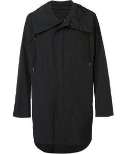 NIL0S | Drawstring Collar Coat 3 Cotton/Nylon