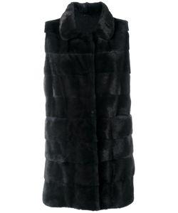 Arma | Sleeveless Fur Coat 34 Mink Fur/Cashmere