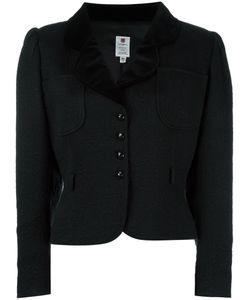 Emanuel Ungaro Vintage | Jacquard Cropped Jacket 46