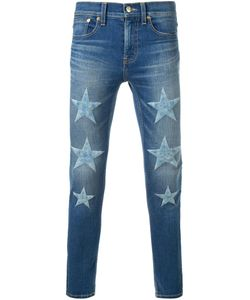 DRESS CAMP | Dresscamp Embroidered Star Skinny Jeans 44 Cotton/Polyurethane