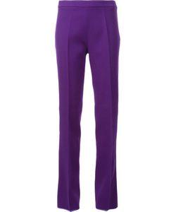 Giambattista Valli | Straight Leg Trousers 42 Virgin Wool