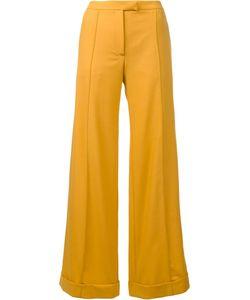 Nina Ricci | Tailored Palazzo Pants 36 Wool