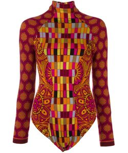 CHRISTIAN LACROIX VINTAGE | Intarsia Knit Patterned Body Medium