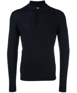 FASHION CLINIC | Long Sleeved Knitted Polo Shirt 48