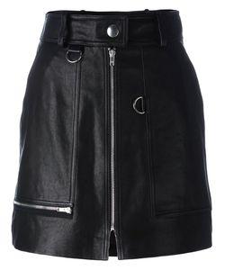 Isabel Marant | Lynne Mini Skirt 42 Lamb Skin/Viscose/Acetate