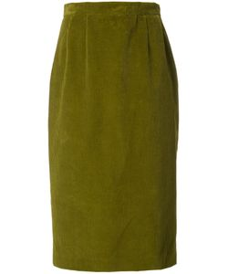 Olympia Le-Tan | Corduroy Skirt 38 Cotton