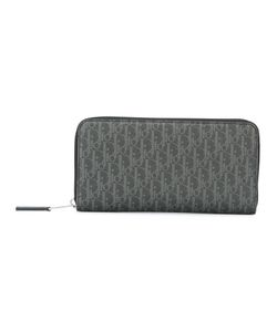 Dior Homme | Logo Print Zipped Wallet Leather