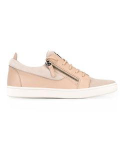 Giuseppe Zanotti Design | Frankie Low-Top Sneakers 36 Leather/Suede/Rubber