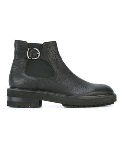 Fratelli Rossetti | Buckled Detailing Ankle Boots 7.5 Leather/Rubber