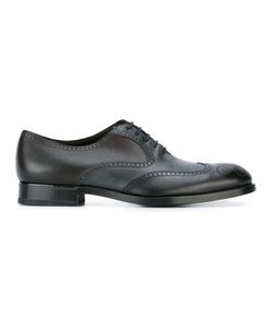 Fratelli Rossetti | Perforated Detailing Oxfords 8 Leather