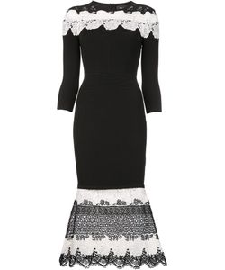 Yigal Azrouel | Embroidered Details Dress Medium Rayon/Nylon/Polyester