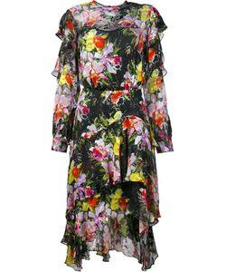 Preen By Thornton Bregazzi | Print Ruffle Dress Small