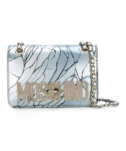 Moschino | Cracked Effect Shoulder Bag