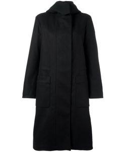 Ahirain | Hooded Zipped Coat Small Wool