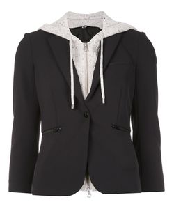 Veronica Beard | Hooded Blazer 8 Nylon/Spandex/Elastane