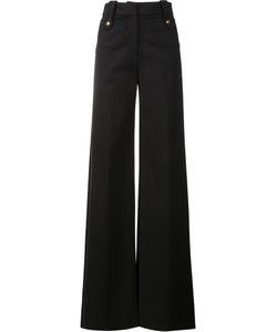 Derek Lam | High-Waist Wide Leg Trousers 38 Cotton/Elastodiene/Polyamide