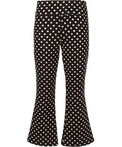 Nicole Miller | Polka Dots Trousers 6 Polyester/Nylon/
