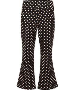 Nicole Miller | Polka Dots Trousers 6 Polyester/Nylon/