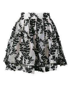 Zimmermann | Winsome Vine Embroidered Skirt 0 Silk/Nylon/Polyester