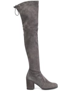 Stuart Weitzman | Tieland Boots 5 Suede/Leather/Rubber