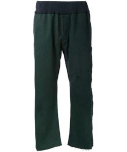 LONGJOURNEY | Straight Trousers Medium Cotton