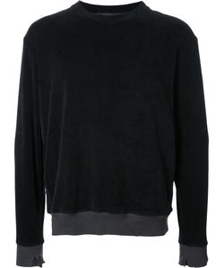 LONGJOURNEY | Round Neck Sweatshirt Large Cotton