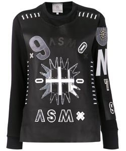ANNE SOFIE MADSEN | Dark Sun Sweater Small Cotton/Leather