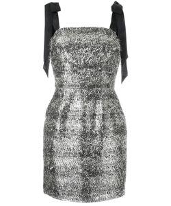 Rebecca Vallance | Sparkle Mini Dress 12 Viscose